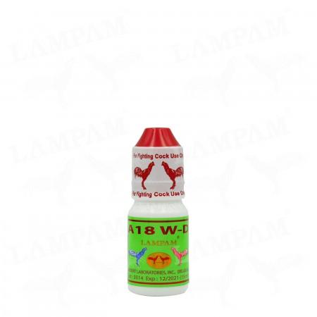 A18 W-D (S) เอ18 ดับบลิว-ดี (ชนิดน้ำ) เล็ก 15 ml.