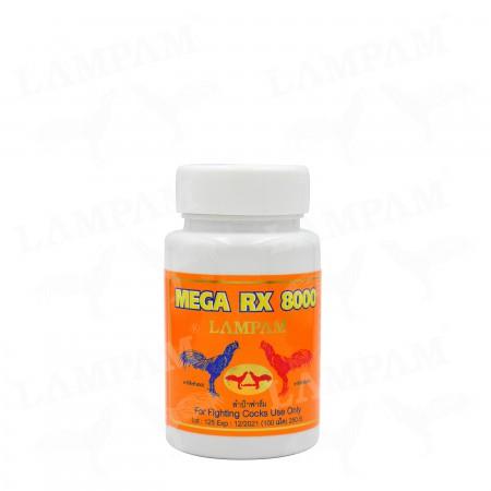 MEGA RX8000 เมก้า อาร์เอ็กซ์ 8000 100 เม็ด