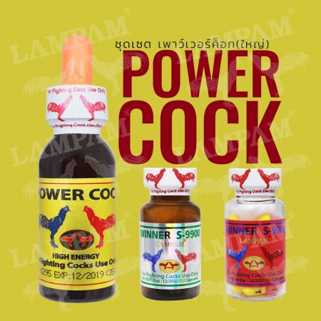 ชุด POWER COCK (B) ชุด เพาว์เวอร์ค็อก (ใหญ่)