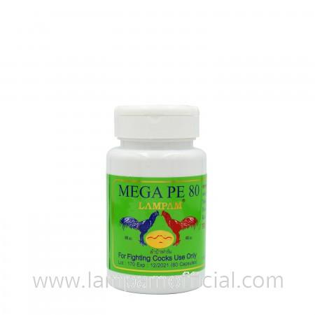 MEGA PE 80 เมก้า พีอี 80 60 แคปซูล