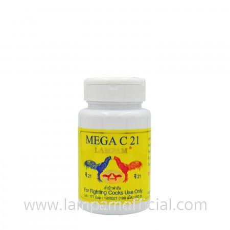 MEGA C21 เมก้า ซี 21 100 เม็ด