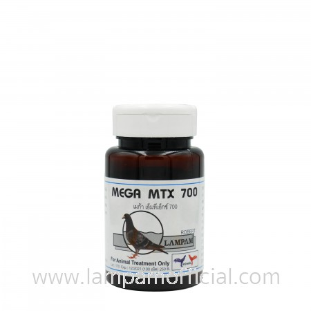 MEGA MTX 700 เมก้า เอ็มทีเอ็กซ์ 700 100 เม็ด